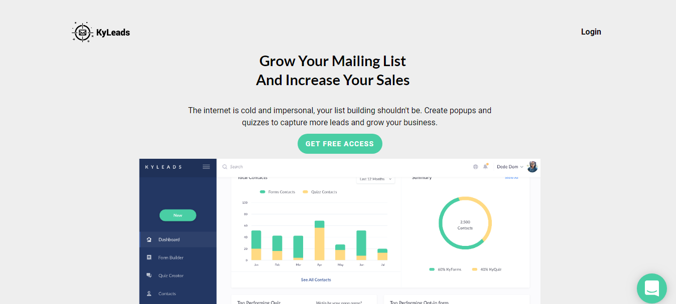 75 Best Lead Generation Tools To Grow Your Business in 2019 - Email