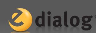 e-Dialog logo email marketing software