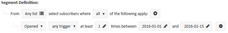 simple email segmentation
