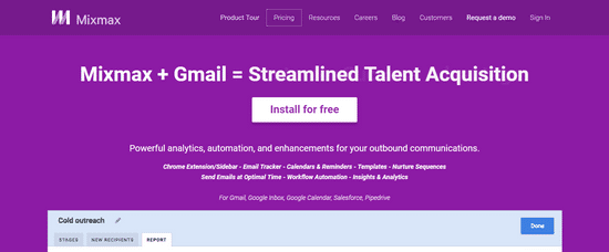mixmax email leadgen outreach