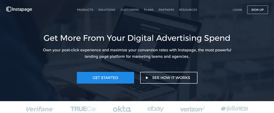 instapage landing page lead generation