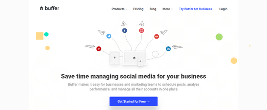 buffer manage social channels