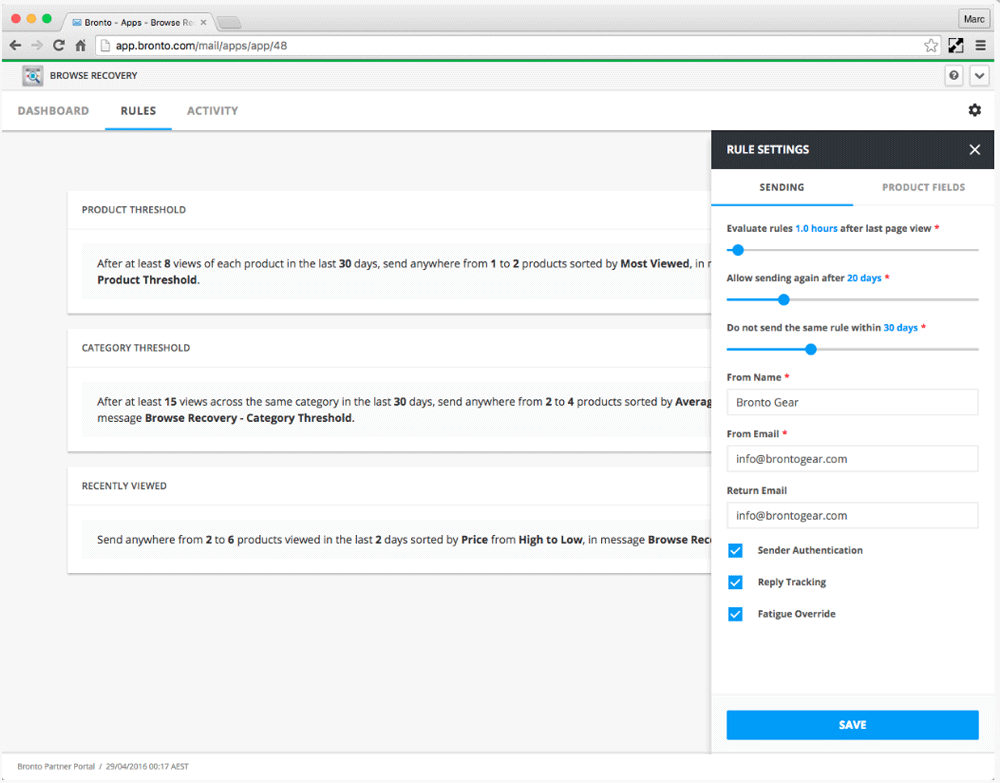 Bronto-Browse-Recovery-Settings