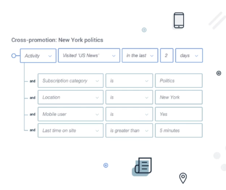 Campaign Monitor segmentation rules