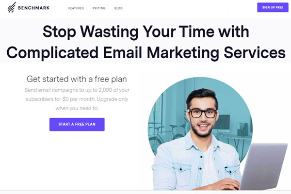 benchmark Email Marketing Review