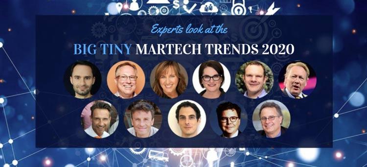 expert martech trends 2020