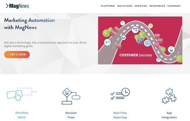 magnews email automation hubspot alternative