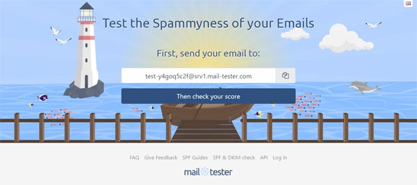 mail tester spam check tool