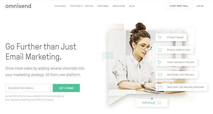 omnisend HubSpot alternative eCommerce