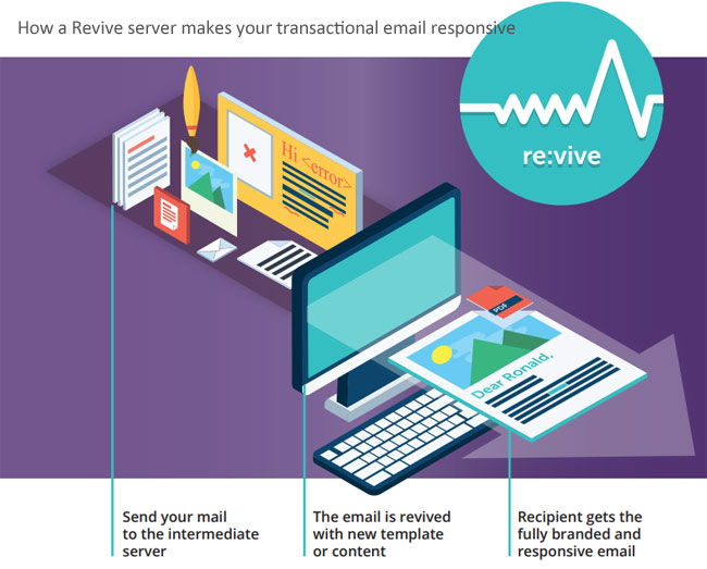 revive transactional email responsive
