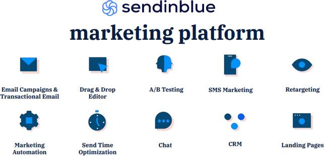 sendinblue review email marketing platform