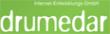 Drumedar logo email marketing software
