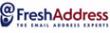 FreshAddress logo email marketing software