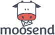 Moosend logo email marketing software