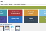 sensorpro email marketing menu